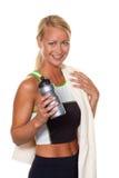 Mulher nova desportiva Fotos de Stock Royalty Free