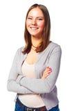 Mulher nova do estudante Imagens de Stock Royalty Free