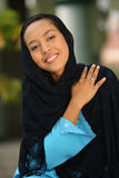 Mulher nova do Islão imagem de stock royalty free
