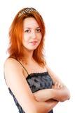 Mulher nova do redhead Fotografia de Stock Royalty Free