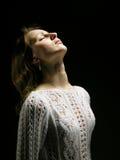 Mulher nova e suas emoções 2 Imagem de Stock