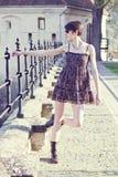 Mulher nova elegante Foto de Stock Royalty Free