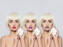Mulher nova elegante Imagens de Stock Royalty Free