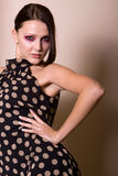 Mulher nova elegante bonita fotos de stock