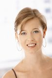 Mulher nova feliz fotos de stock royalty free