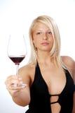 Mulher nova feliz Imagem de Stock