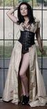 Mulher nova glamoroso Imagem de Stock