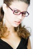 Mulher nova Meditative Fotografia de Stock