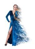 Mulher nova misteriosa Fotos de Stock Royalty Free