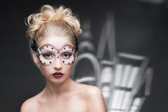 Mulher nova na composição da fantasia Fotos de Stock