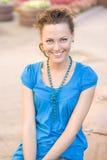 Mulher nova na rua Foto de Stock Royalty Free