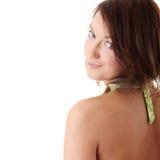 Mulher nova no biquini imagem de stock royalty free