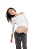 Mulher nova que sorri feliz Fotografia de Stock Royalty Free