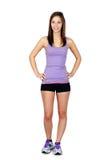 Mulher nova saudável Imagens de Stock