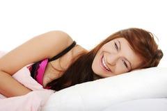 Mulher nova sensual Imagens de Stock Royalty Free