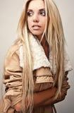 Mulher nova sensual & da beleza fotografia de stock royalty free