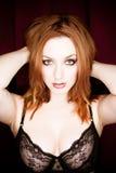 Mulher nova 'sexy' Fotografia de Stock Royalty Free