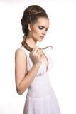 Mulher nova 'sexy' bonita foto de stock royalty free