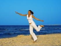 Mulher nova - vida saudável Imagem de Stock Royalty Free