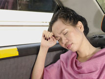 Mulher nova Wornout Fotos de Stock Royalty Free
