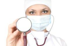 Mulher o doutor fotografia de stock royalty free