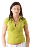 Mulher ocasional fotografia de stock