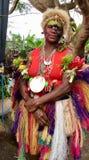 Mulher ocidental de New Britain em Papuásia-Nova Guiné fotos de stock