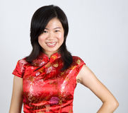 Mulher oriental Imagens de Stock Royalty Free