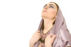 Mulher oriental bonita Fotografia de Stock Royalty Free