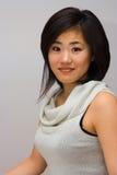 Mulher oriental bonita Imagem de Stock Royalty Free