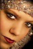 Mulher oriental bonita Imagens de Stock Royalty Free