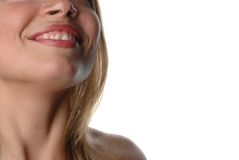 Mulher parcial face-12 Imagens de Stock Royalty Free