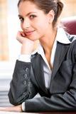Mulher pensativa Foto de Stock Royalty Free