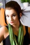Mulher-penteado Fotografia de Stock Royalty Free
