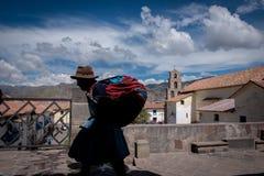 Mulher peruana fotos de stock