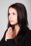 Mulher Praying Foto de Stock Royalty Free