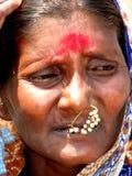 Mulher preocupada Imagem de Stock