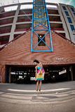 Mulher que dança 2 Imagem de Stock
