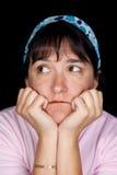 A mulher quer saber sobre a vida Imagem de Stock Royalty Free