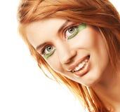 Mulher Redhaired Imagens de Stock