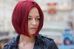 mulher redhaired nova Fotografia de Stock