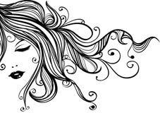 Mulher retro Imagem de Stock Royalty Free
