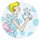Mulher retro Imagens de Stock