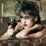 Mulher retro Imagens de Stock Royalty Free