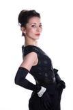 Mulher retro do estilo do asain novo bonito Fotografia de Stock Royalty Free