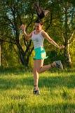 Mulher Running Imagem de Stock Royalty Free