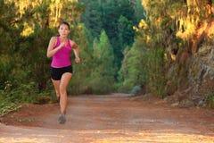 Mulher Running Fotos de Stock