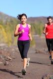 Mulher Running Fotografia de Stock Royalty Free