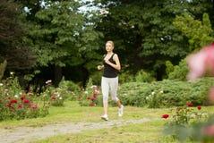 Mulher Running Fotos de Stock Royalty Free