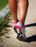Mulher Running Imagem de Stock